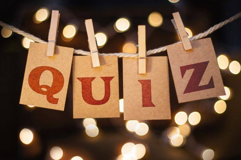 Quiz at the Brogue Thursday 15th Nov