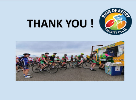 THANK YOU CYCLISTS!