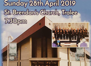 Kerry Choral Union Easter event 28th April