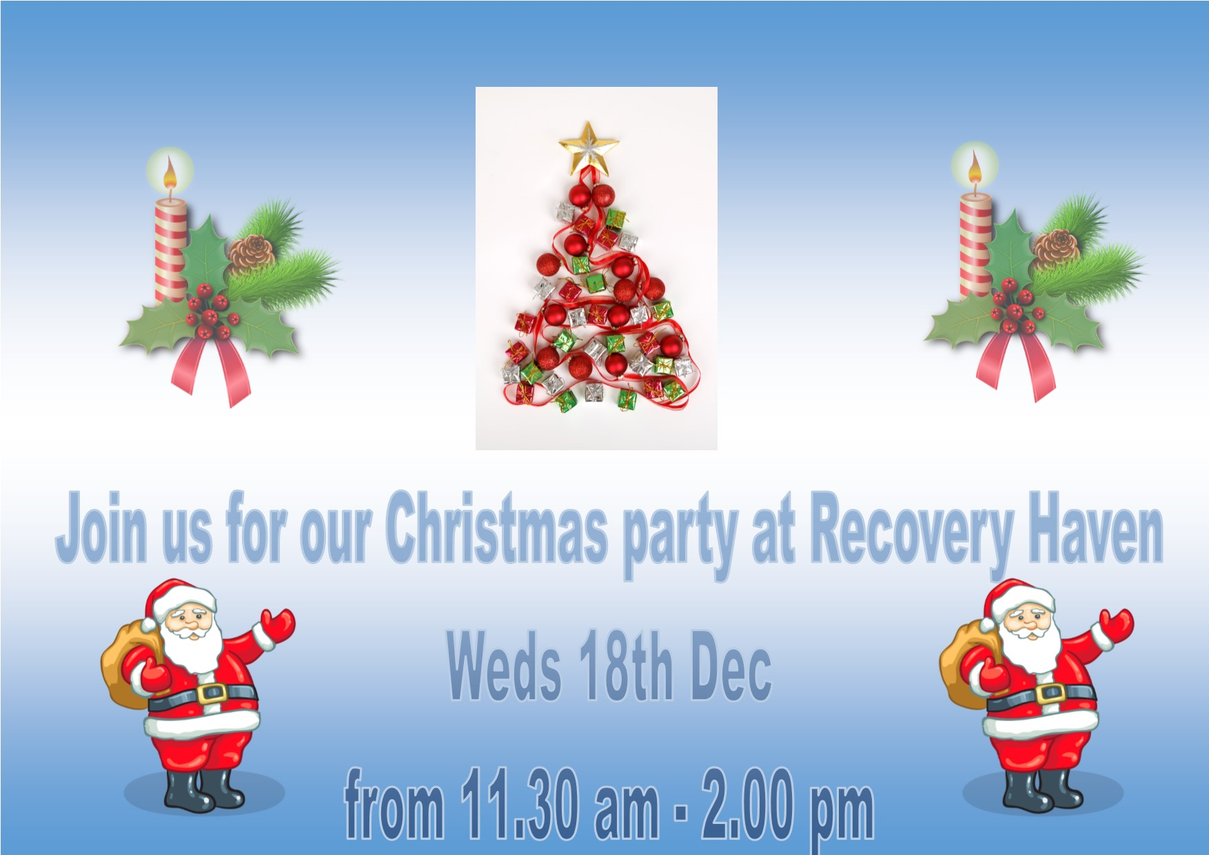 Visitors Christmas party