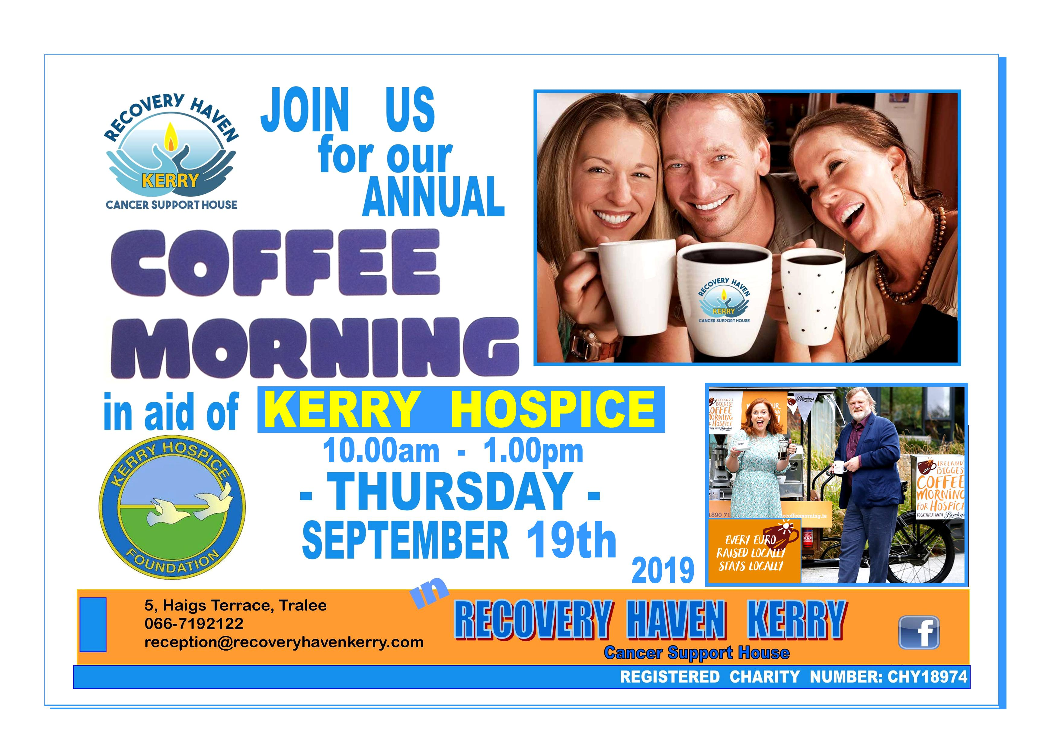 Hospice coffee morning