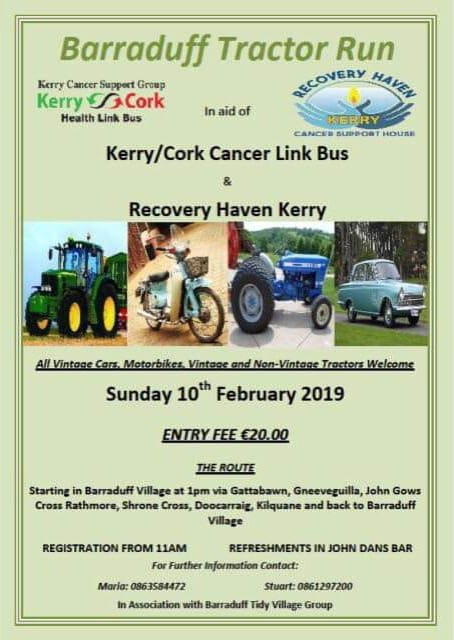 Tractor Run Feb 10th 2019