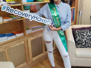 Miss Kerry Chooses Recovery Haven as her charity of choice!