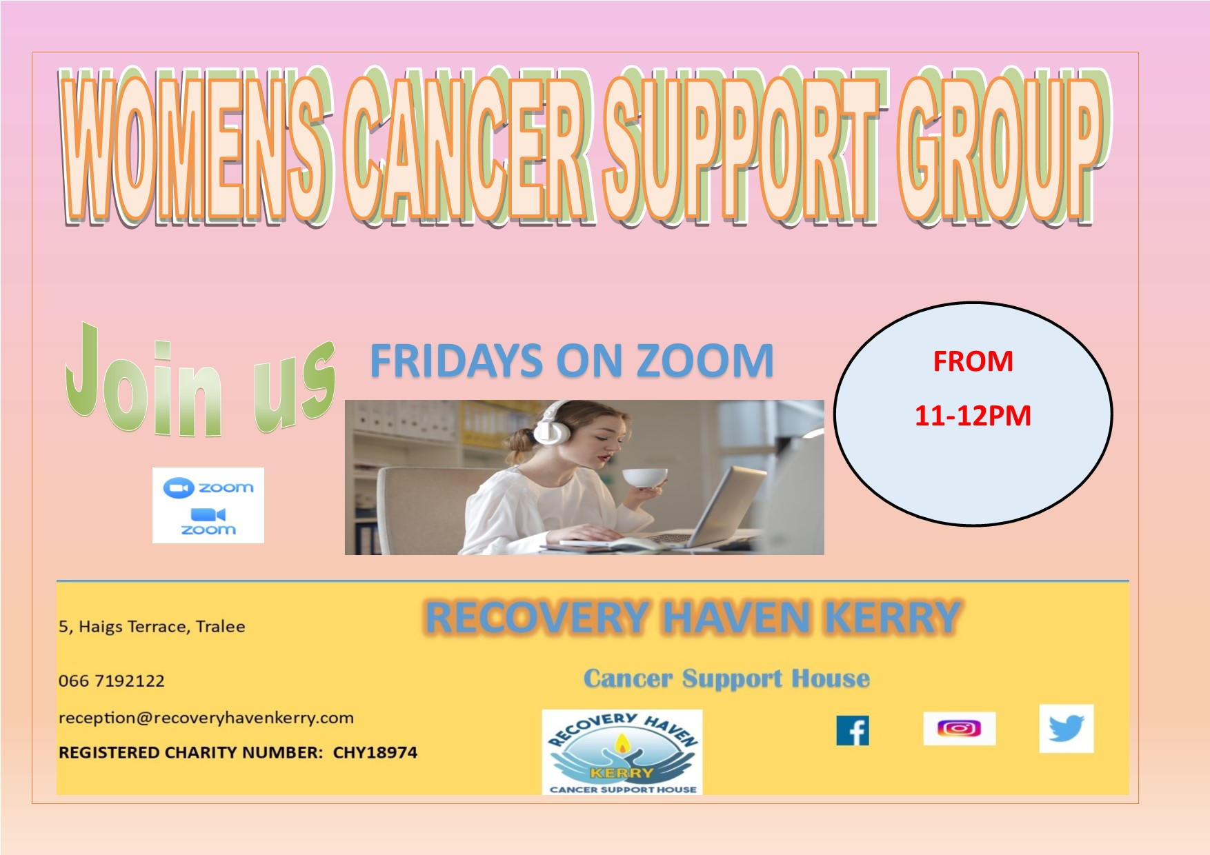 Womens group Fridays via zoom 2021