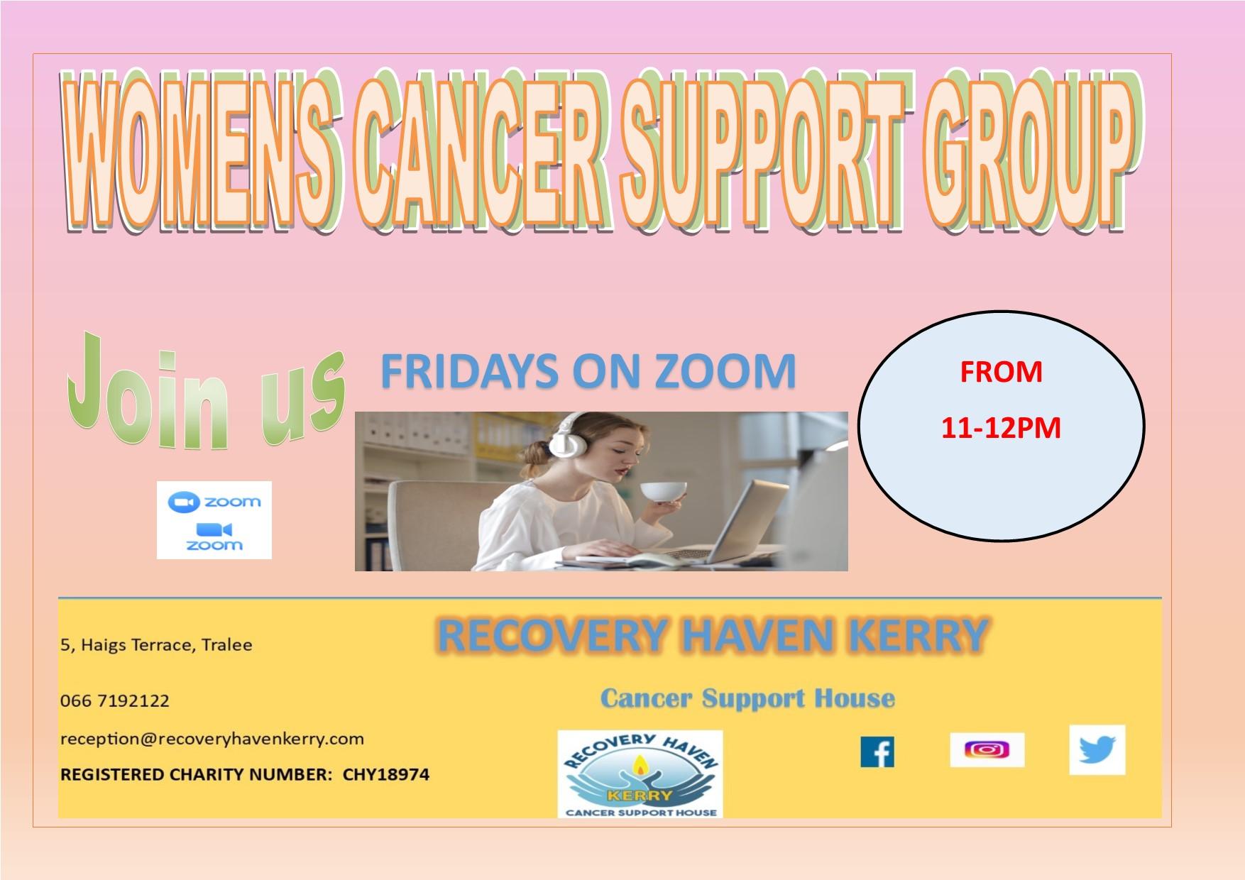 Womens group Fridays via zoom 2021
