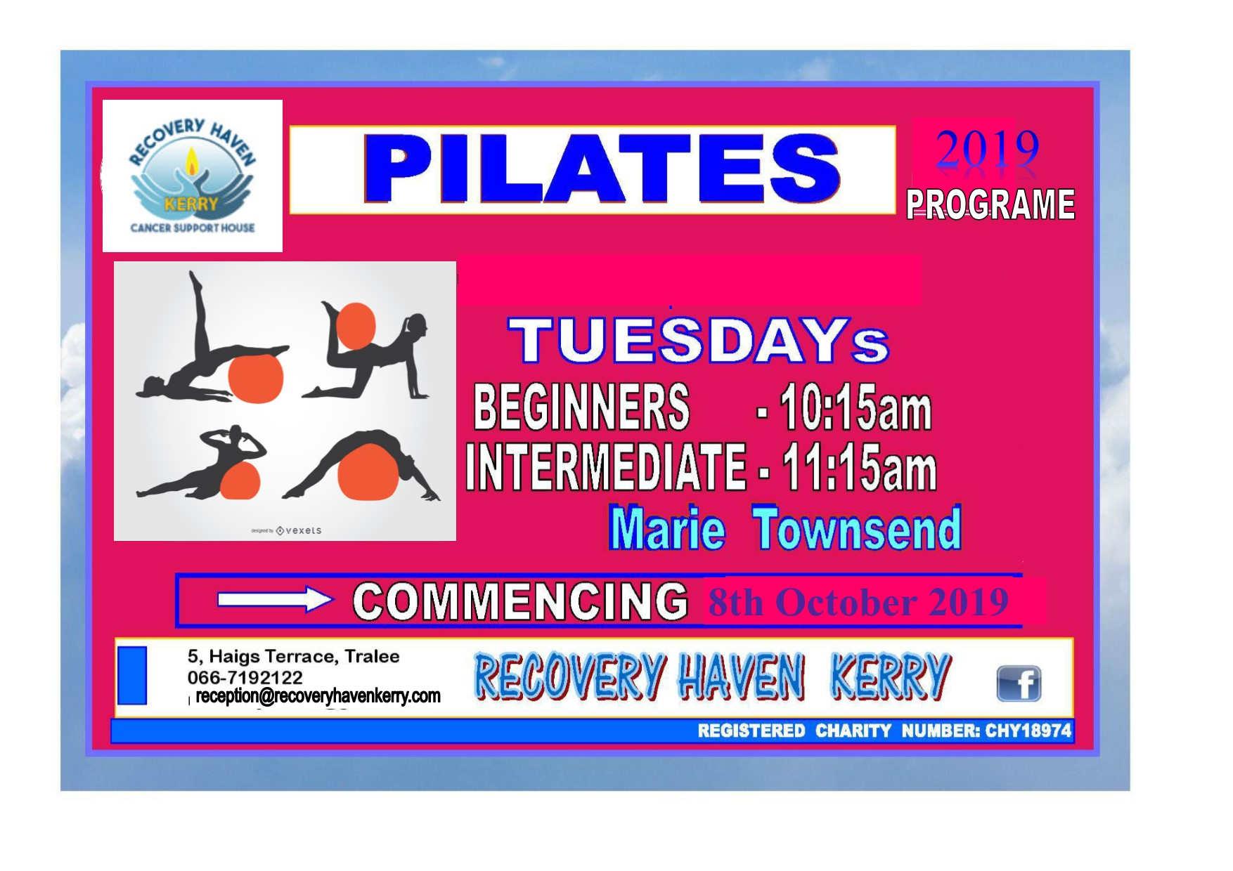 Pilates with Marie 8th Oct