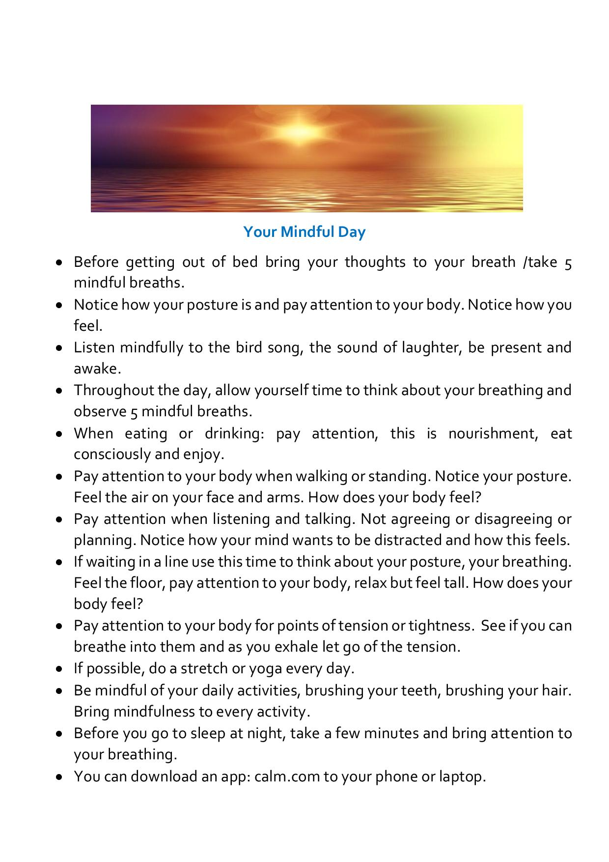 Your Mindful Day