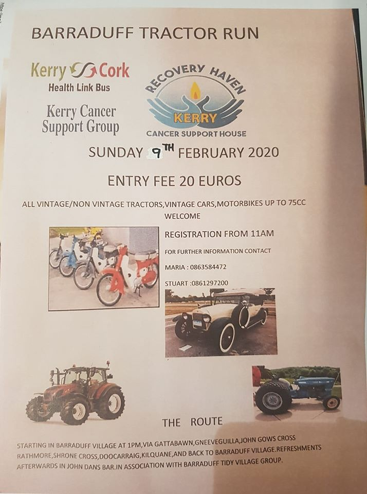 Barraduff Tractor Run