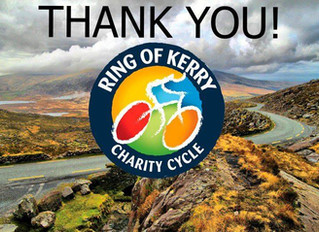 Ring of Kerry Charity Cycle 2017