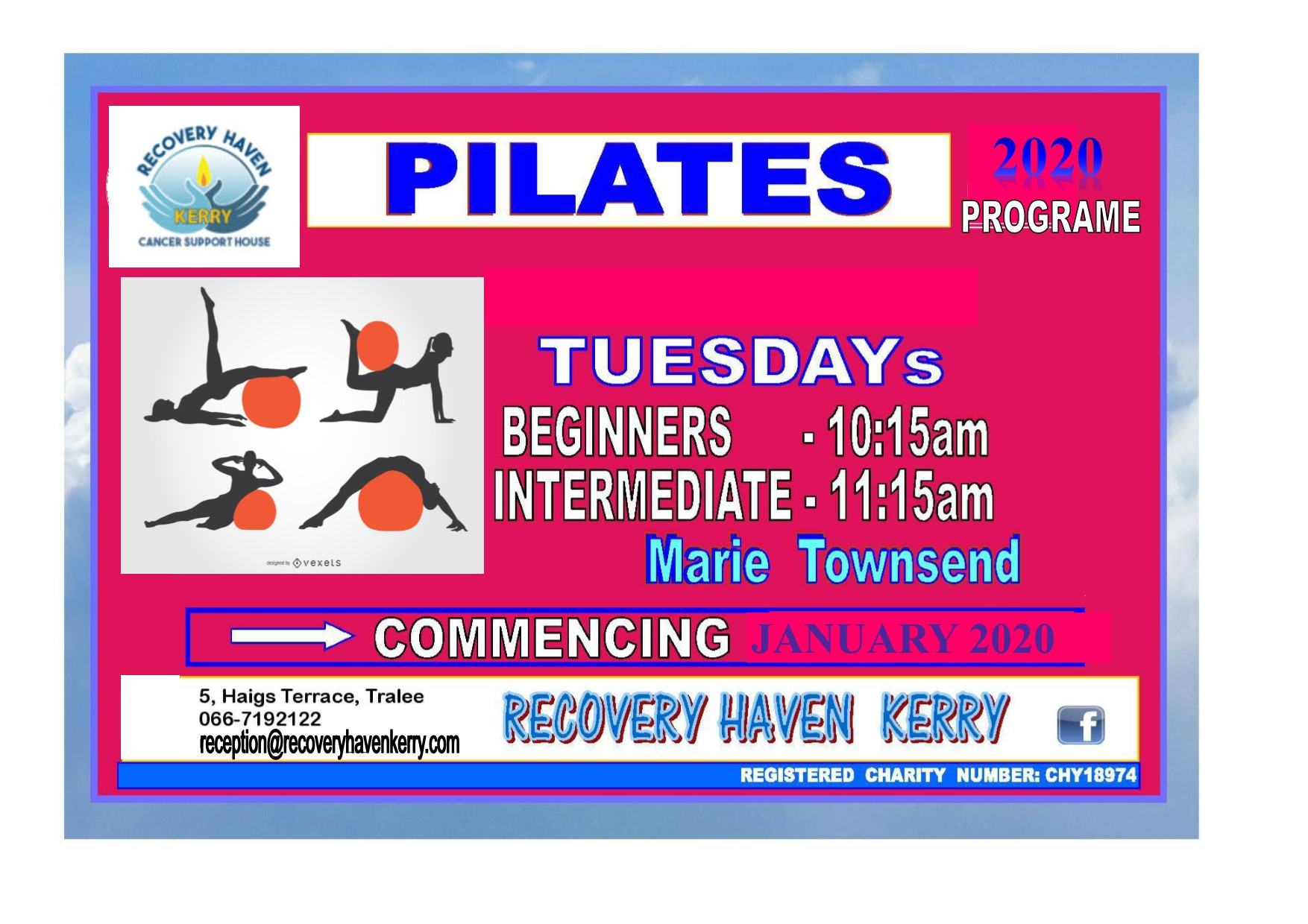 Pilates with Marie Townsend