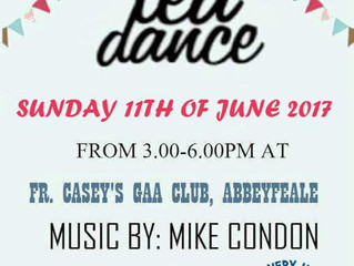 Tea Dance in aid of Recovery Haven Kerry Cancer Support House