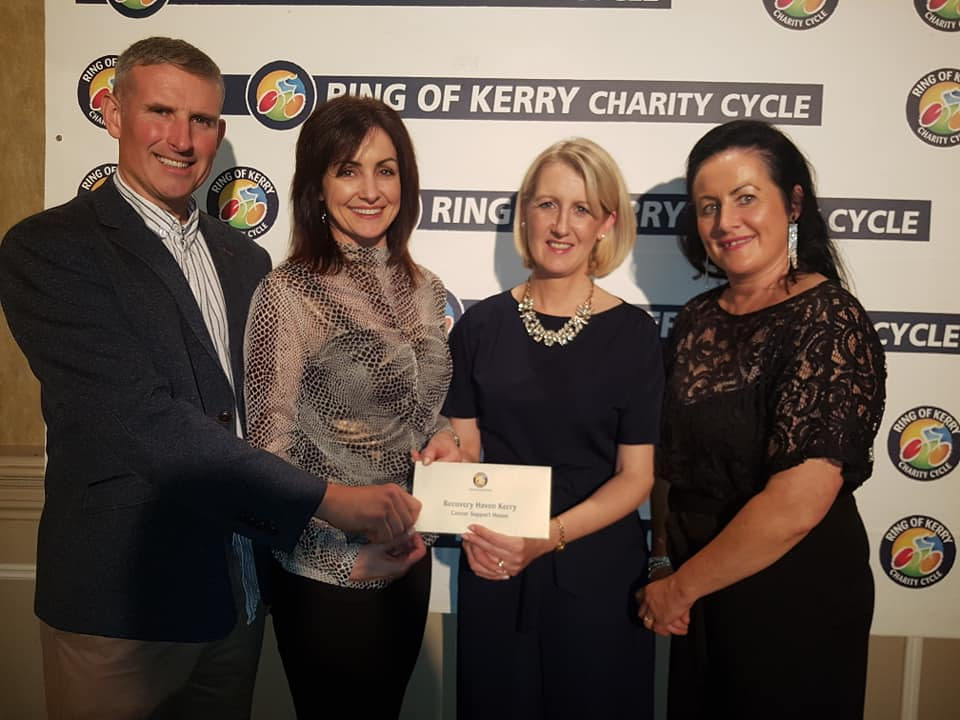 Ring of Kerry Cheque Presentation at the