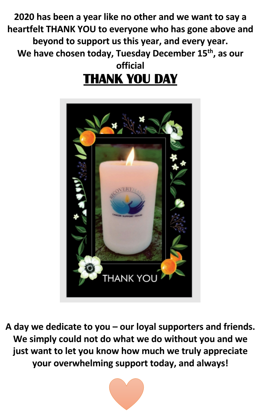 THANK YOU DAY!