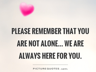 We are still here for you!