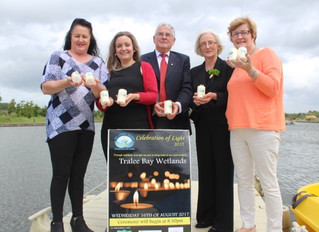 Launch of the Celebration of Light at Tralee Bay Wetlands