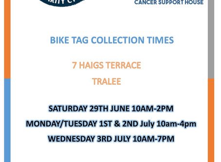 ROKCC Bike tag collection dates!