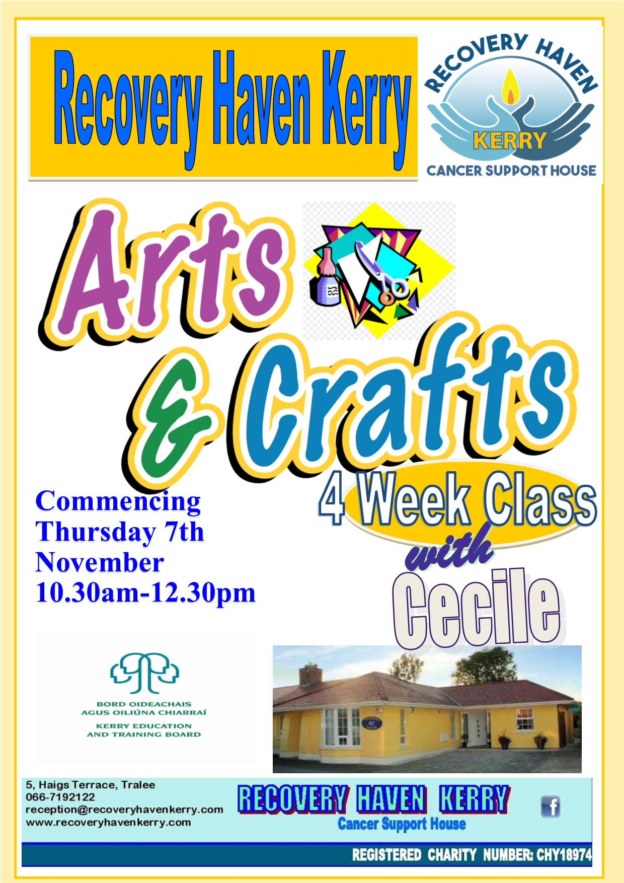 Arts and crafts Thursday Nov 7th 2019
