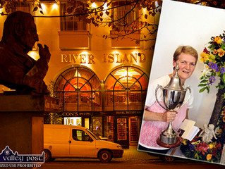 Save the Date Thursday December 5th at 8pm....Kathleen Reidy's Floral Demonstration at the River