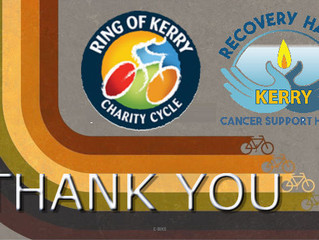 Ring of Kerry Charity Cycle 2017 - Thank You!
