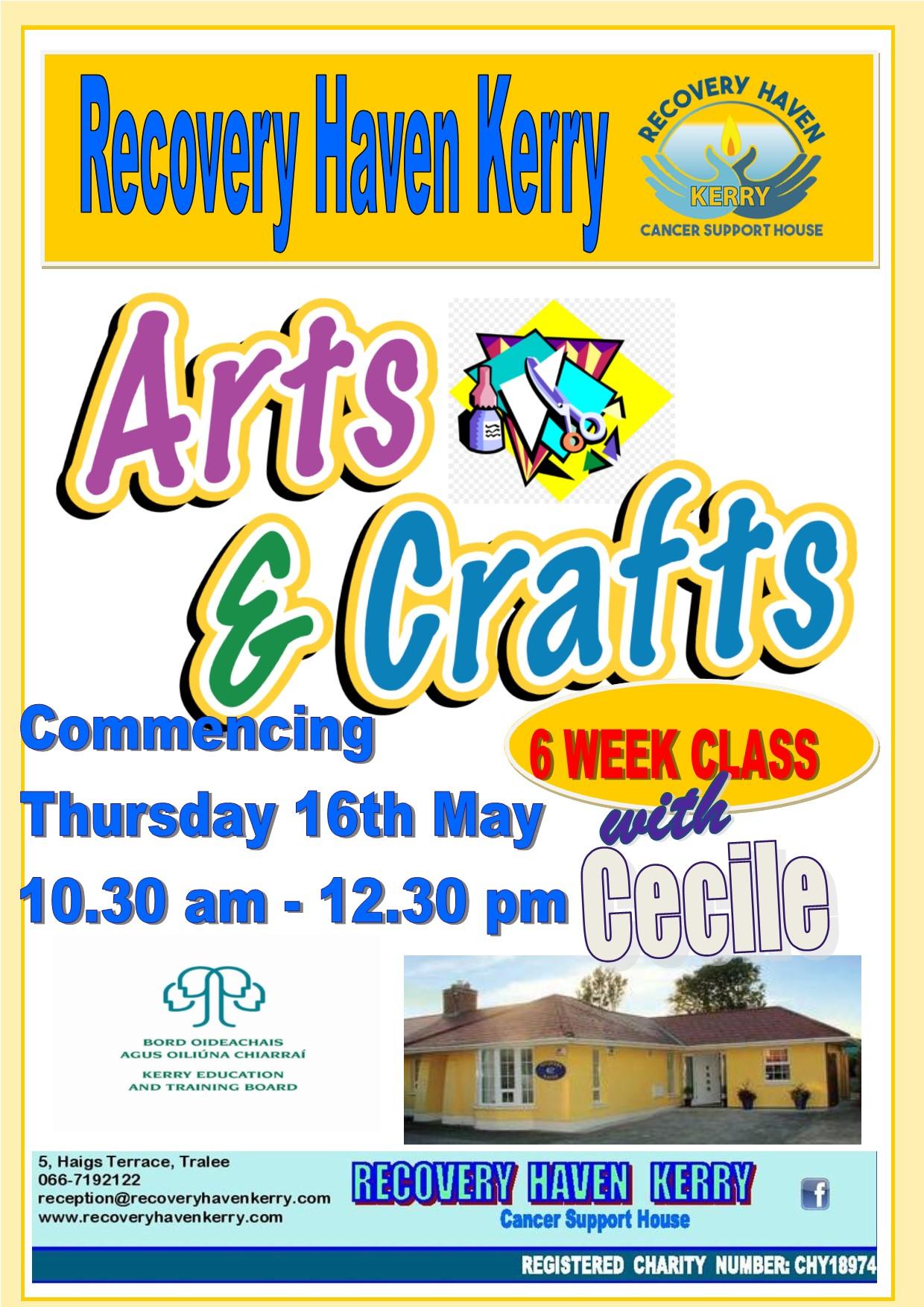 Arts and Crafts April 2019