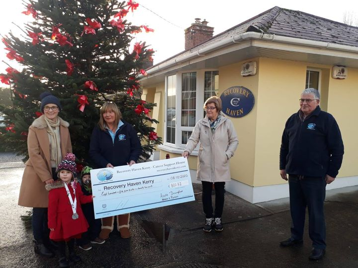 Aoife and Neasa raise a whopping €855