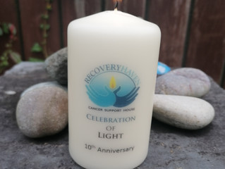 Candles can be purchased here at Recovery Haven Kerry Monday 17th August to Wednesday 19th August at