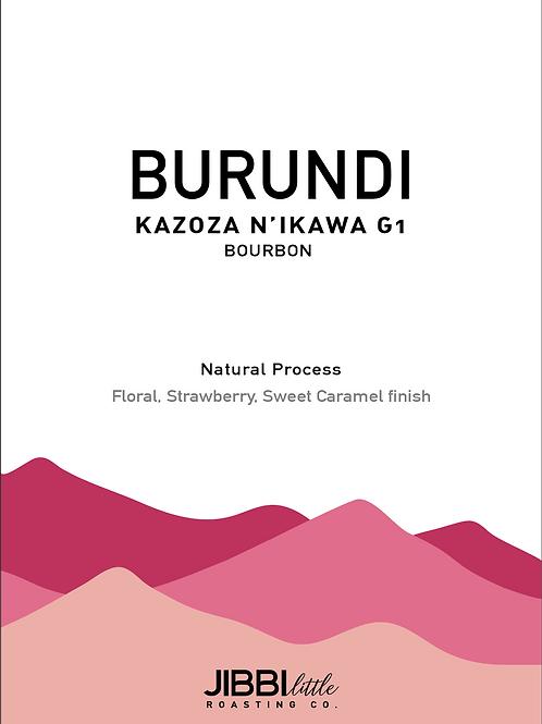 Burundi Kazoza N'Ikawa- Microlot