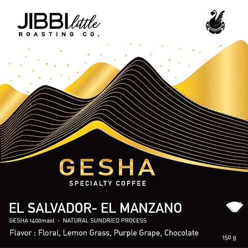 El Salvador - El Manzano - Natural Gesha