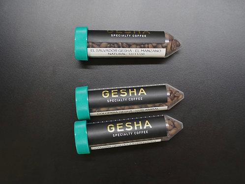 3 Gesha Coffees Tube (Washes/Honey/Natural)