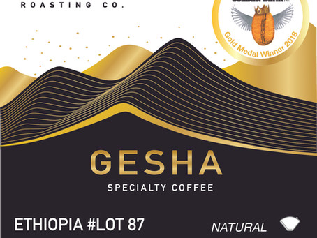 GOLD AWARD - GESHA ESTELLA HONEY
