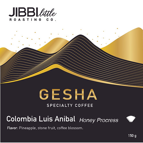 Colombia Luis Anibal Gesha -Honey
