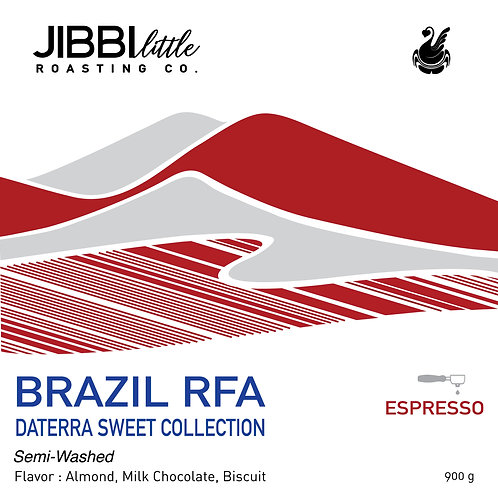 Brazil Daterra 900g RFA 'Sweet Collection - semi wash