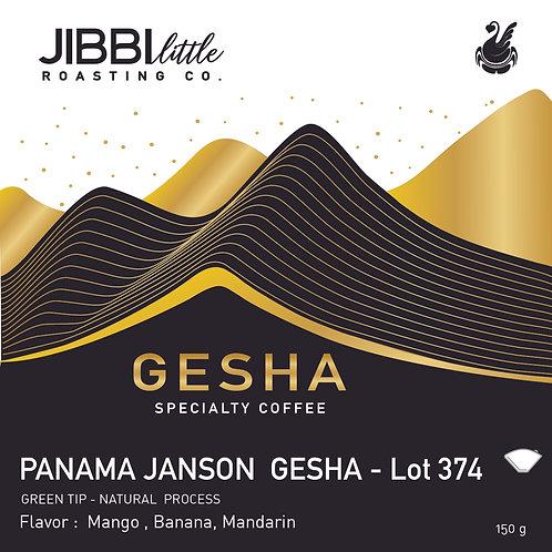 Panana Janson gesha Nat -lot 374 anaerobic