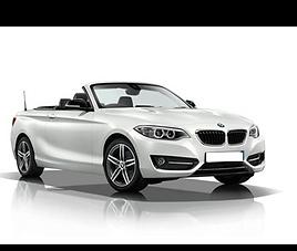 BMW 220 Cabrio, 2 drzwi, 4 miejsca, radio, klimatyzacja, automatyczna skrzynia biegów