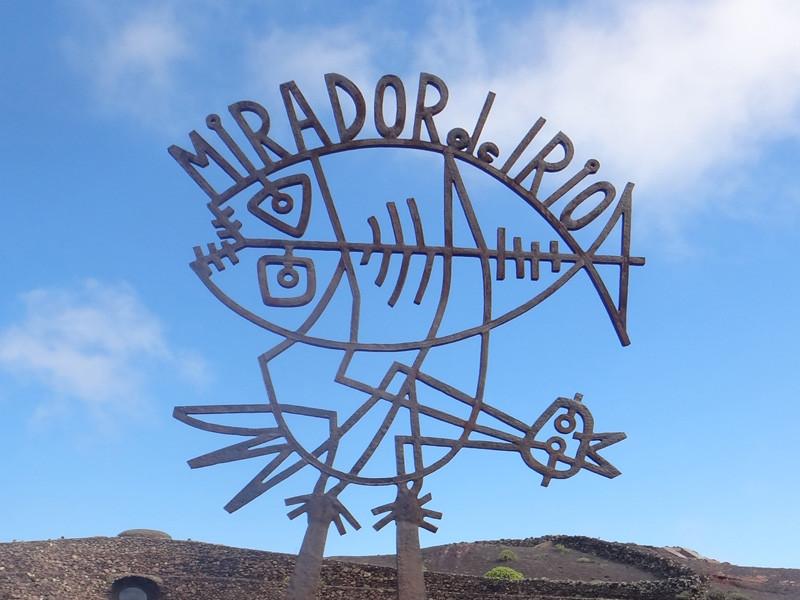 Lanzarote moja własna wycieczka Mirador del Rio