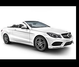 Mercedes E Cabriolet, 2 drzwi, 4 miejsca, radio CD, klimatyzacja, automatyczna skrzynia biegów
