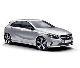 Mercedes A aut., 5 drzwi, 5 miejsc, radio, klimatyzacja, automatyczna skrzynia biegów