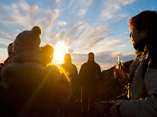 Teneryfa Teide o zmierzchu + dojazd z południa