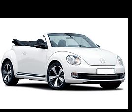 VW New Beetle Cabrio aut., 2 drzwi, 4 miejsca, radio, klimatyzacja, automatyczna skrzynia biegów,