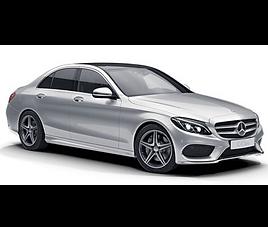 Mercedes C, 4 drzwi, 5 miejsc, radio, klimatyzacja, automatyczna skrzynia biegów