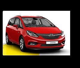 Opel Zafira Tourer, 5 drzwi, 7 miejsc, radio, klimatyzacja, manualna skrzynia biegów,nawigacja GPS