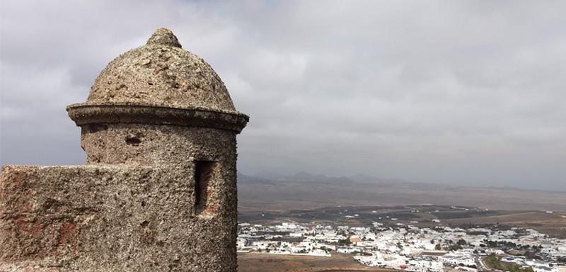 Lanzarote moja własna wycieczka zamek Santa Barbara