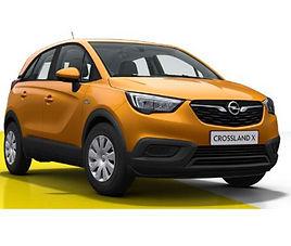 Opel Crossland X, 5 drzwi, 5 miejsc, radio, klimatyzacja, manualna skrzynia biegów