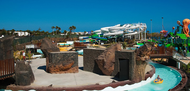 Lanzarote Aqualava w Playa Blaca