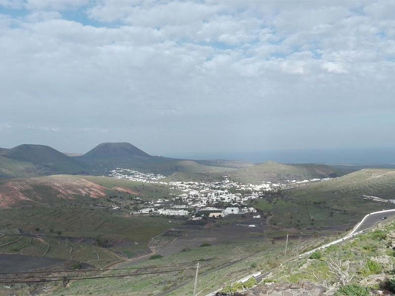 Lanzarote moja własna wycieczka Mirador de los Hechos