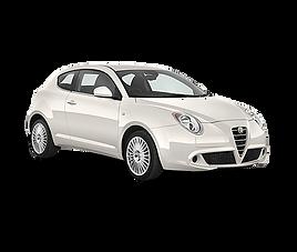 Alfa Romeo Mito, 3 drzwi, 4 miejsca, radio, klimatyzacja, manualna skrzynia biegów