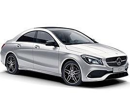 Mercedes CLA aut., 4 drzwi, 5 miejsc, radio CD, klimatyzacja, automatyczna skrzynia biegów