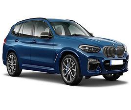 BMW X3, 5 drzwi, 5 miejsc, radio, klimatyzacja, automatyczna skrzynia biegów