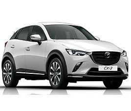 Mazda CX3, 5 drzwi, 5 miejsc, radio CD, klimatyzacja, manualna skrzynia biegów