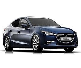 Mazda 3 4d aut., 4 drzwi, 5 miejsc, radio, klimatyzacja, automatyczna skrzynia biegów